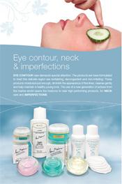 Eye contour, neck & imperfections