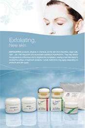 Exfoliating, New skin